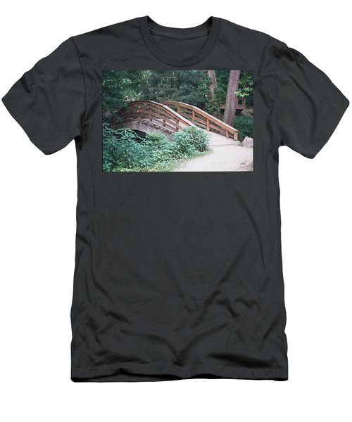 Arched Bridge Men's T-Shirt (Athletic Fit)