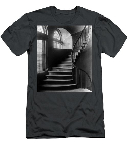 Arching Stairwell Men's T-Shirt (Athletic Fit)