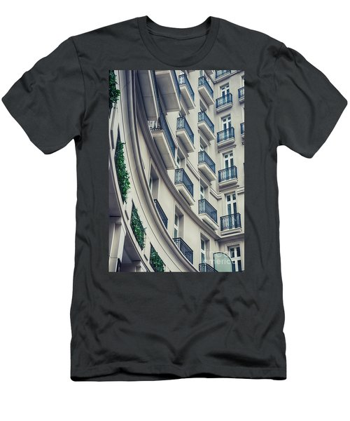 Men's T-Shirt (Athletic Fit) featuring the photograph Architecture Background  by Ariadna De Raadt