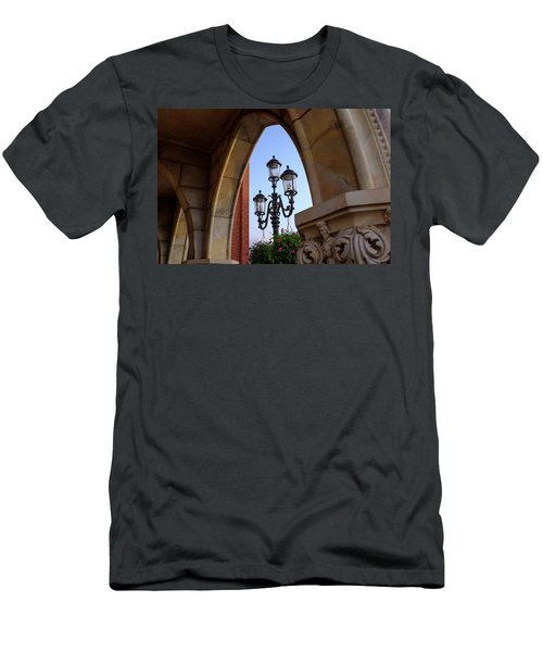 Archway And Lights In Orlando Florida Men's T-Shirt (Athletic Fit)