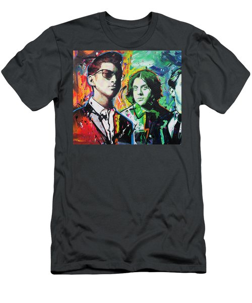 Arctic Monkeys Men's T-Shirt (Slim Fit) by Richard Day