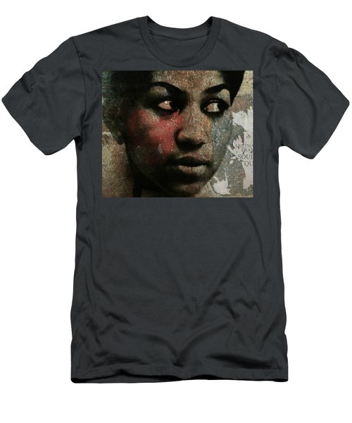 Aretha Franklin - Tribute Men's T-Shirt (Athletic Fit)