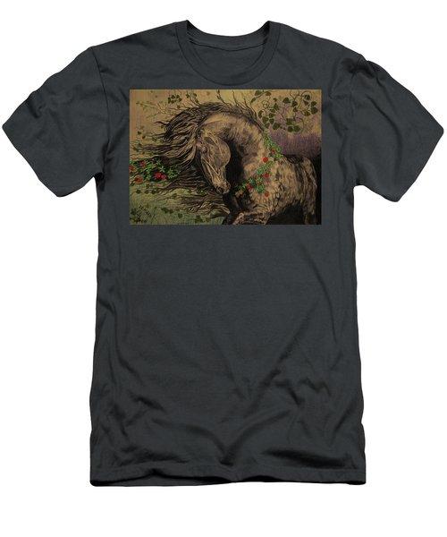 Aristocratic Horse Men's T-Shirt (Athletic Fit)
