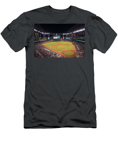Arizona Diamondbacks Baseball 2591 Men's T-Shirt (Athletic Fit)