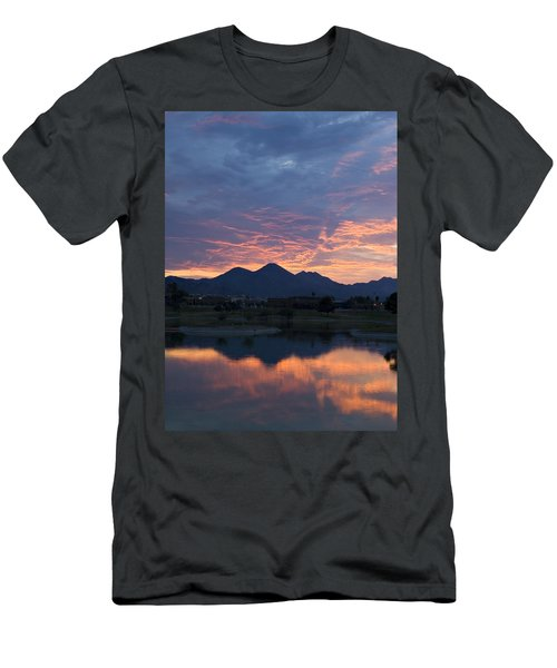 Arizona Sunset 2 Men's T-Shirt (Athletic Fit)