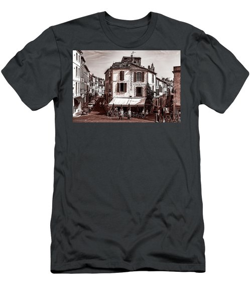 Arles, France, In Sepia Men's T-Shirt (Athletic Fit)