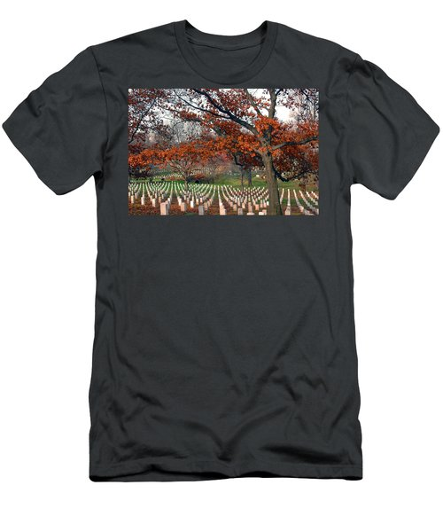 Arlington Cemetery In Fall Men's T-Shirt (Athletic Fit)