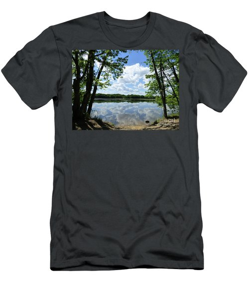 Arlington Reservoir Men's T-Shirt (Athletic Fit)