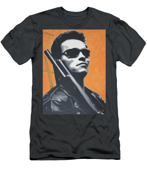 Arnold Schwarzenegger 2013 Men's T-Shirt (Slim Fit) by Luis Ludzska