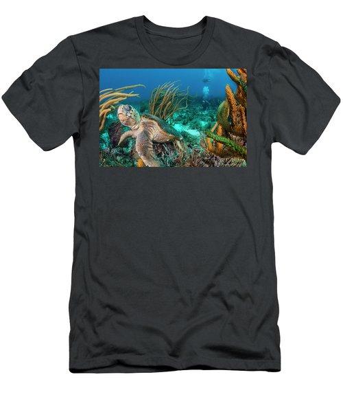 Around Me Men's T-Shirt (Athletic Fit)