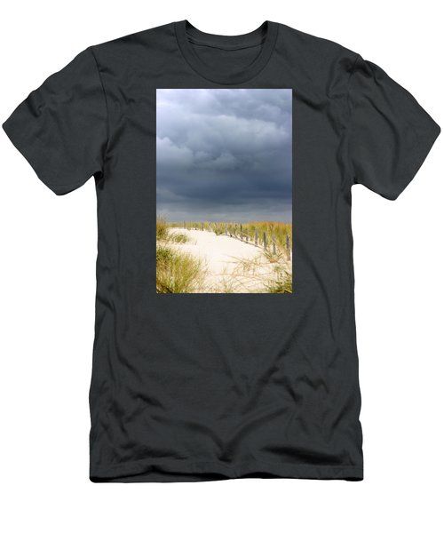 Men's T-Shirt (Slim Fit) featuring the photograph Around The Bend by Dana DiPasquale
