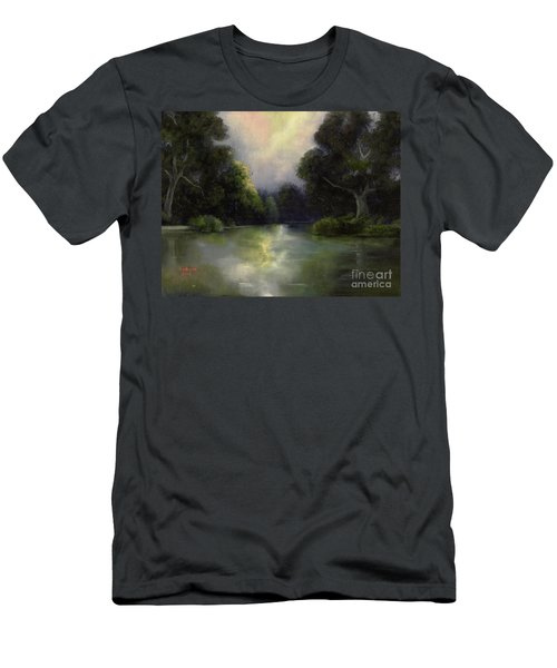 Around The Bend Men's T-Shirt (Slim Fit) by Marlene Book