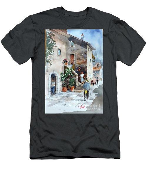 Arrezo-3 Men's T-Shirt (Athletic Fit)