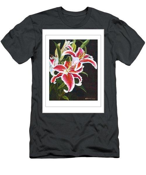 Art Card - Lilli's Stargazers Men's T-Shirt (Slim Fit) by Harriett Masterson