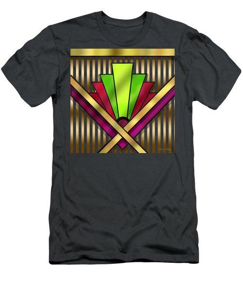 Art Deco 13 Transparent Men's T-Shirt (Athletic Fit)