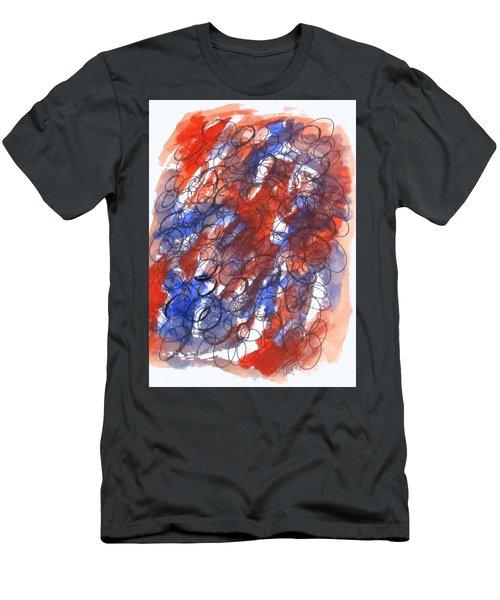 Art Doodle No. 28 Men's T-Shirt (Athletic Fit)