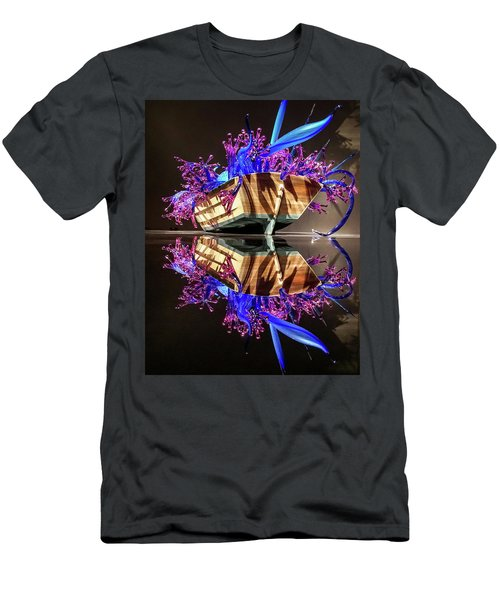 Art Glass Reflection By Chihuly Men's T-Shirt (Athletic Fit)