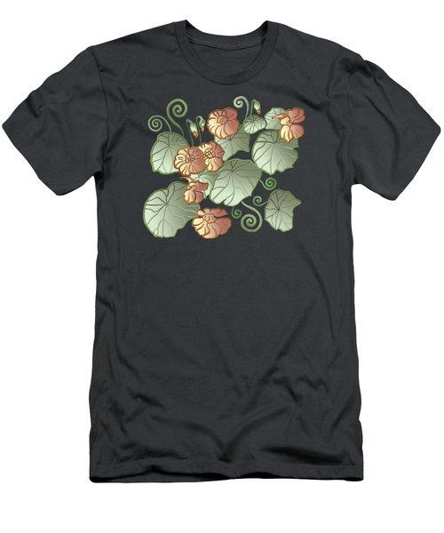 Men's T-Shirt (Athletic Fit) featuring the painting Art Nouveau Garden by Ivana Westin
