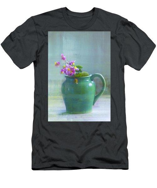 Art Of Begonia Men's T-Shirt (Athletic Fit)