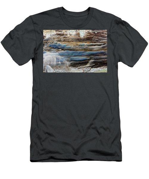 Art Print Cliff 1 Men's T-Shirt (Athletic Fit)