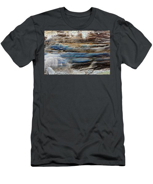 Art Print Cliff 1 Men's T-Shirt (Athletic Fit)