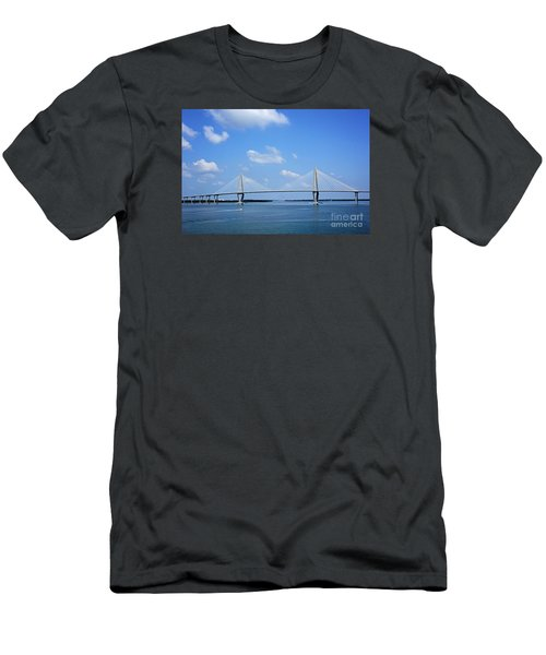 Arthur Ravenel Jr. Bridge - Charleston Men's T-Shirt (Athletic Fit)