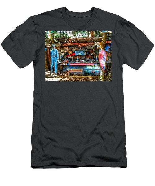 Artist Shop In Bluffton, South Carolina Men's T-Shirt (Athletic Fit)