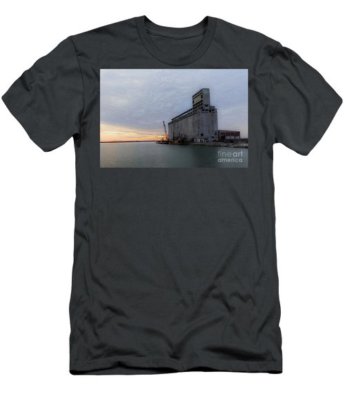 Men's T-Shirt (Slim Fit) featuring the photograph Artistic Sunset by Jim Lepard