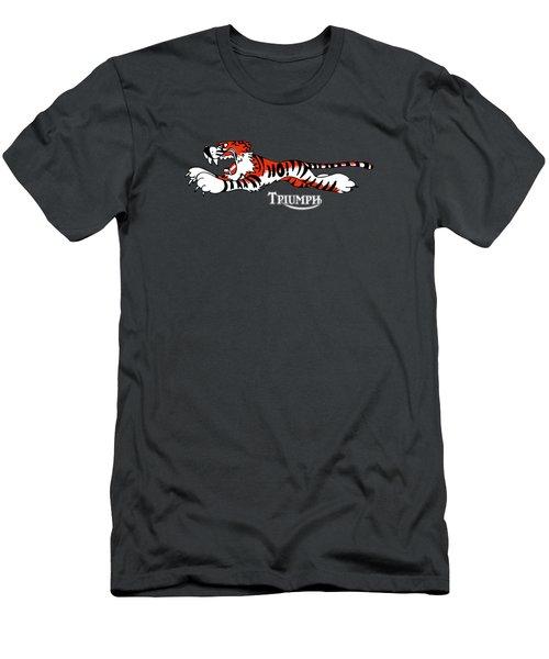 Triumph Tiger Phone Case Men's T-Shirt (Athletic Fit)