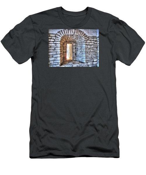 Yury Bashkin Old Window Men's T-Shirt (Slim Fit) by Yury Bashkin