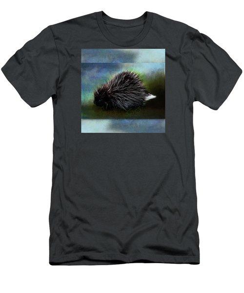 Porcupine Men's T-Shirt (Athletic Fit)