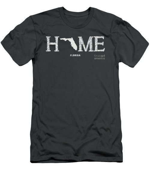 Fl Home Men's T-Shirt (Slim Fit) by Nancy Ingersoll
