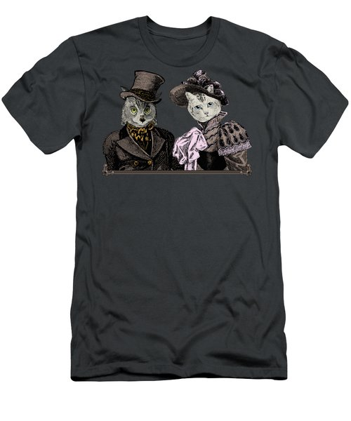 The Owl And The Pussycat Men's T-Shirt (Athletic Fit)