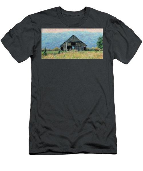 Still Standing Men's T-Shirt (Slim Fit) by Bonnie Mason