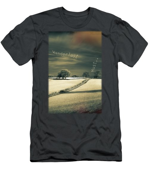 I Wander Because Men's T-Shirt (Athletic Fit)