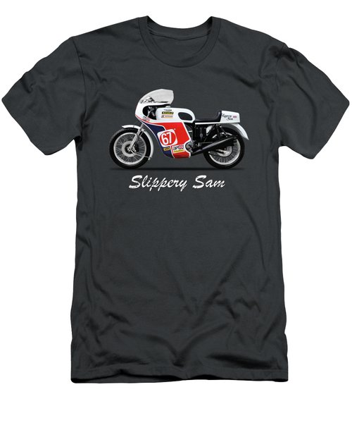 Slippery Sam Production Racer Men's T-Shirt (Athletic Fit)