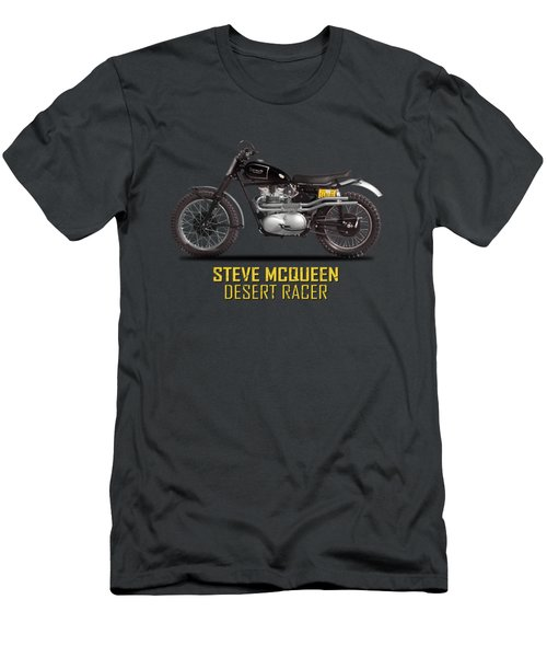 The Steve Mcqueen Desert Racer Men's T-Shirt (Athletic Fit)