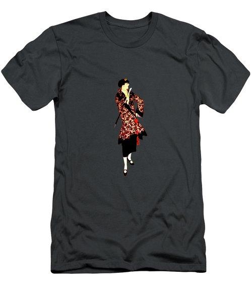 La Robe  Men's T-Shirt (Slim Fit) by Asok Mukhopadhyay