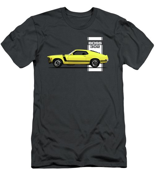 Boss 302 Mustang Men's T-Shirt (Athletic Fit)