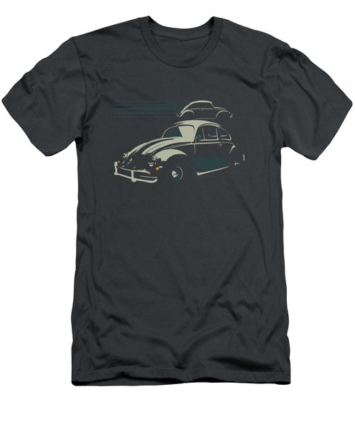 Vw Beatle Men's T-Shirt (Athletic Fit)