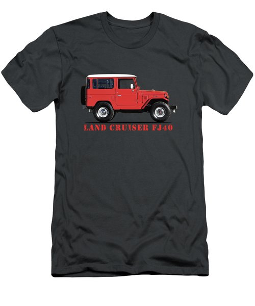 The Land Cruiser Fj40 Men's T-Shirt (Athletic Fit)