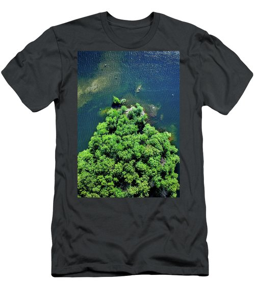 Archipelago Island - Aerial Photography Men's T-Shirt (Athletic Fit)