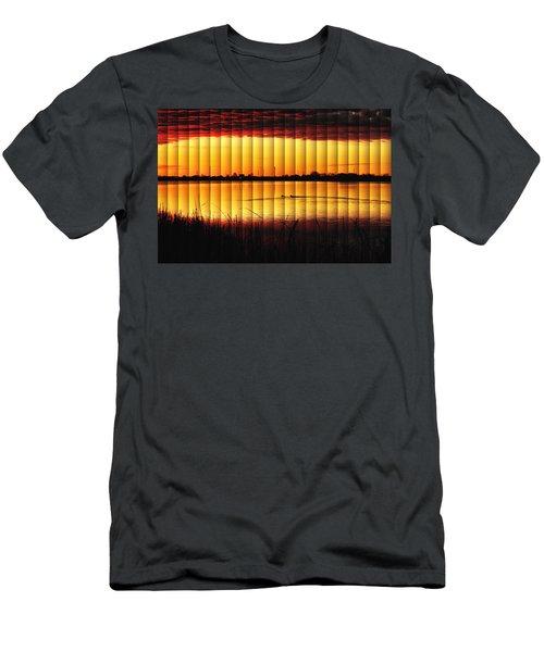 Magnificent Sunrise Swim Men's T-Shirt (Slim Fit) by Bill Kesler