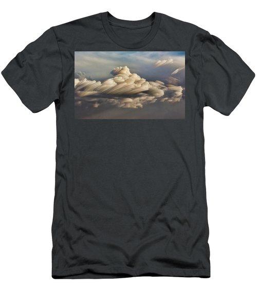 Cupcake In The Cloud Men's T-Shirt (Slim Fit) by Bill Kesler