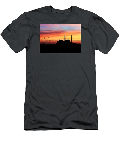 A Gentleman Sunrise Men's T-Shirt (Athletic Fit)