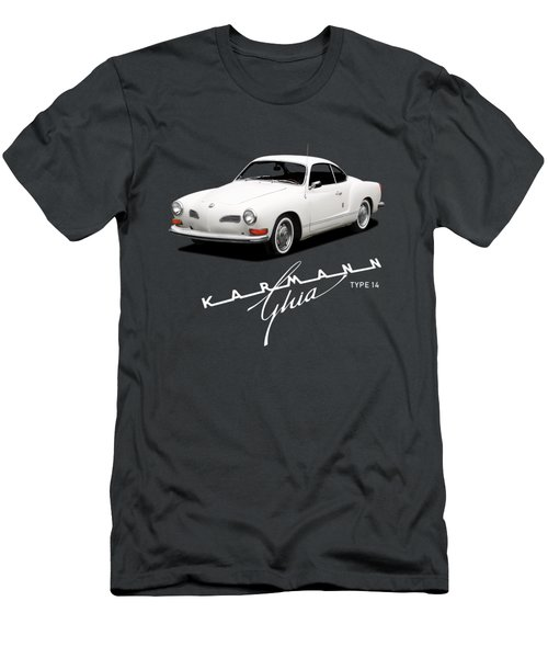 Vw Karmann Ghia Men's T-Shirt (Athletic Fit)