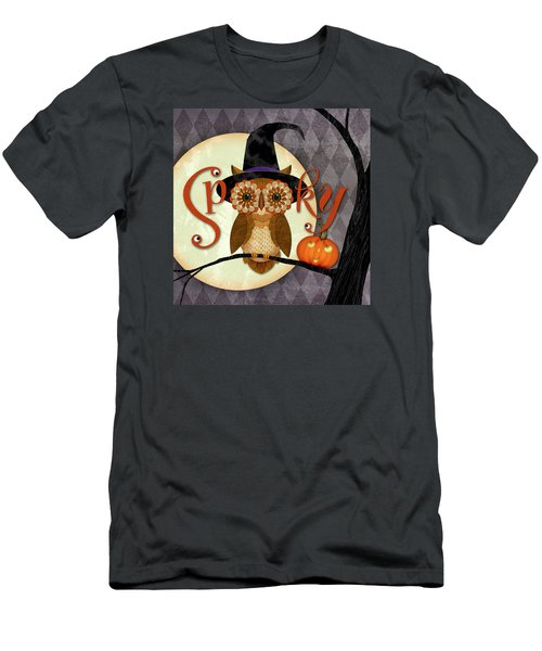 Spooky Owl Men's T-Shirt (Athletic Fit)
