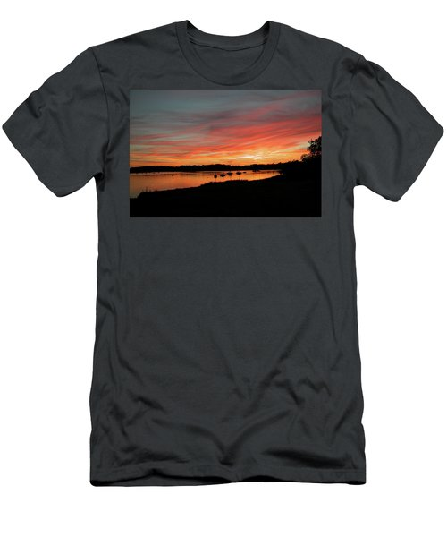 Arzal Sunset Men's T-Shirt (Athletic Fit)