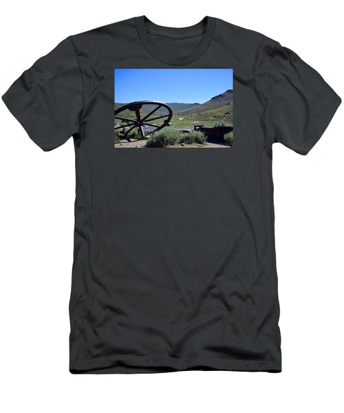 As The Wheel Turns Men's T-Shirt (Athletic Fit)