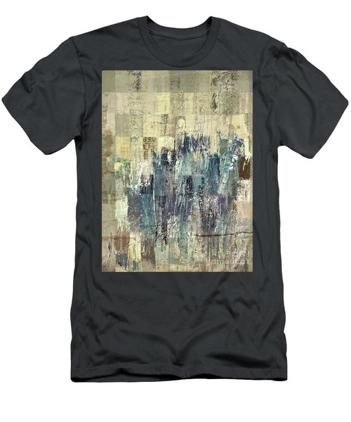 Men's T-Shirt (Slim Fit) featuring the painting Ascension - C03xt-159at2b by Variance Collections